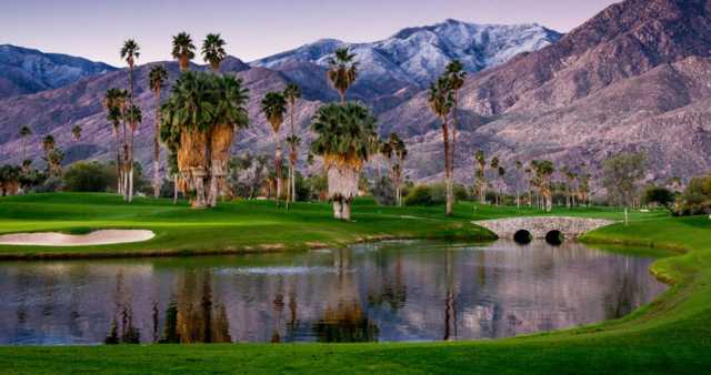 Indian Canyons Golf Resort South Course In Palm Springs