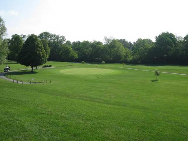 Pleasant Run Golf Course In Indianapolis Indiana Usa