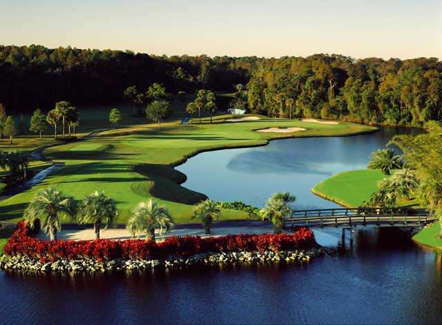 Disney S Palm Golf Course In Lake Buena Vista Florida