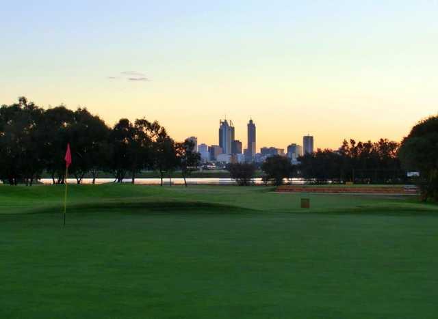 maylands peninsula golf course in perth western australia. Black Bedroom Furniture Sets. Home Design Ideas