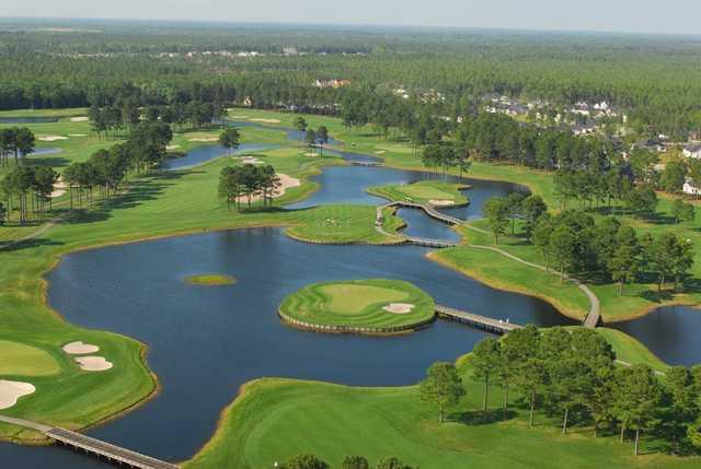 Man O War Golf Course In Myrtle Beach South Carolina