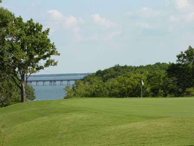 Chickasaw Pointe Golf Club In Kingston Oklahoma USA