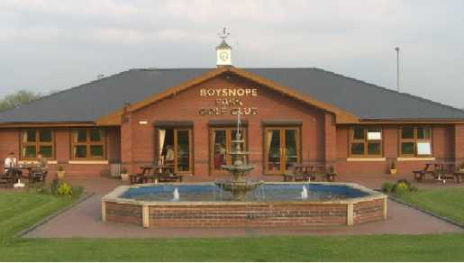 A View Of The Clubhouse At Boysnope Park Golf Club