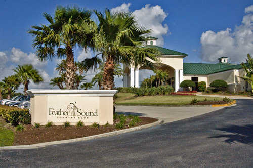 Feather Sound Country Club In Clearwater Florida Usa