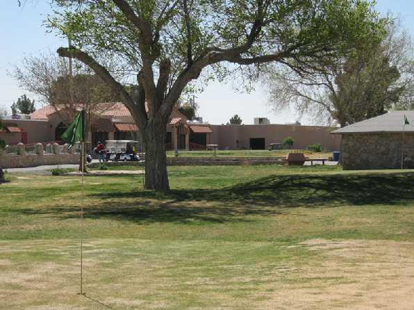 Delta Nine At Ascarate Park Golf Course In El Paso Texas