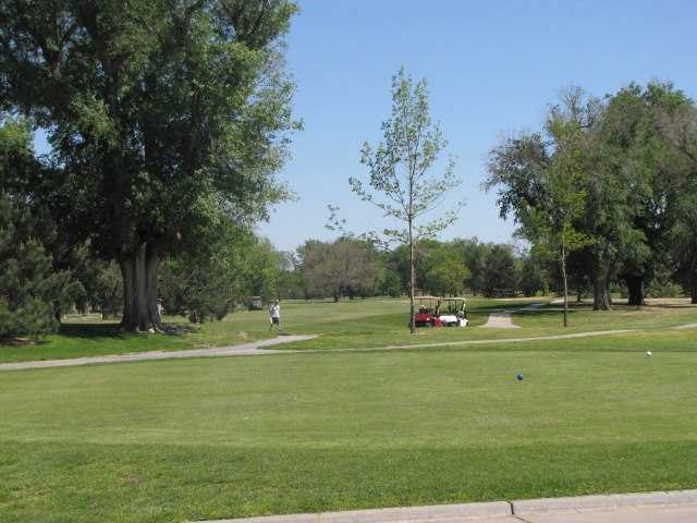 Carey Park Golf Course In Hutchinson Kansas USA