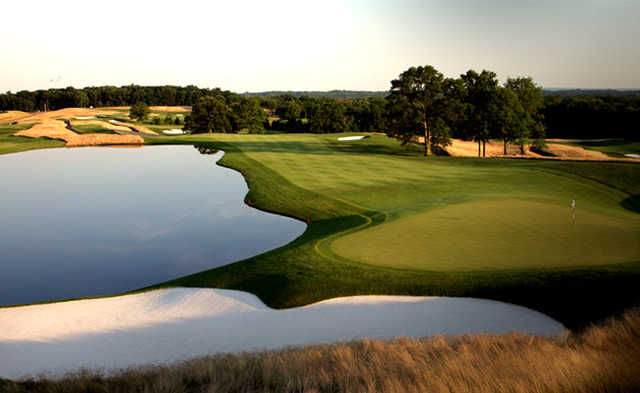 Trump national golf club bedminster new course in