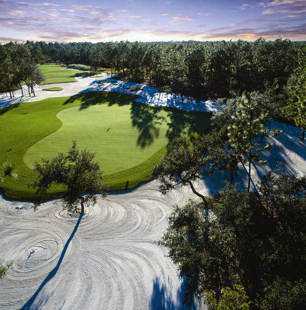 Ocean Isle Beach Nc: Tiger's Eye Golf Links At Ocean Ridge Plantation In Ocean Isle Beach, North Carolina, USA