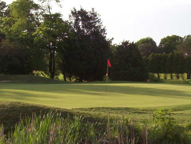 Rutgers University, Piscataway, New Jersey - Golf course ...