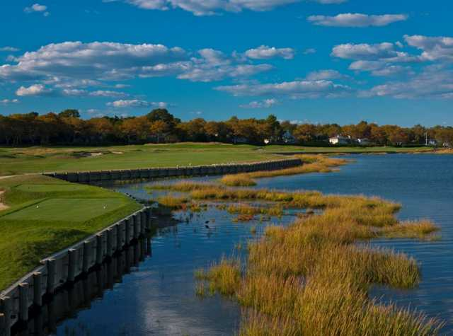 Rockaway Hunting Golf Course in Lawrence, New York, USA