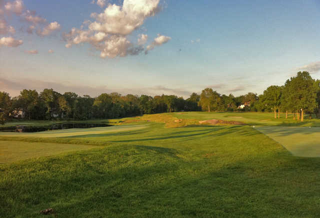 Siwanoy Country Club In Bronxville New York Usa Golf