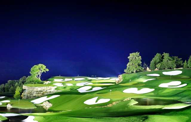 Top of the Rock Golf Course in Hollister, Missouri, USA ...