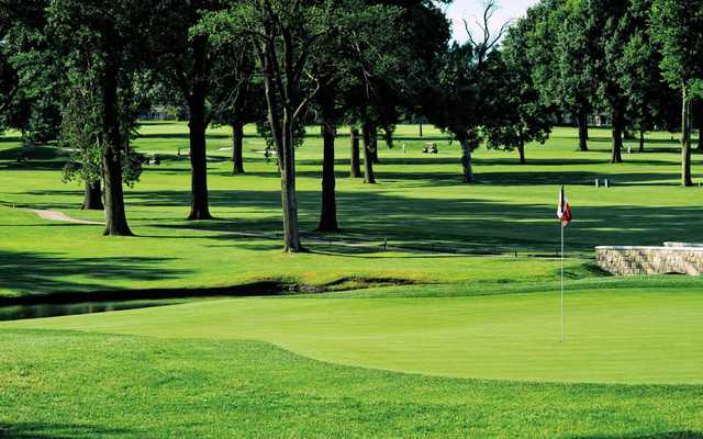 Indian Hills Country Club In Mission Hills Kansas Usa