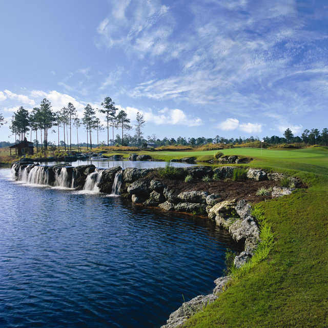 Ocean Isle Beach Nc: Leopard's Chase Golf Links At Ocean Ridge Plantation In Ocean Isle Beach, North Carolina, USA