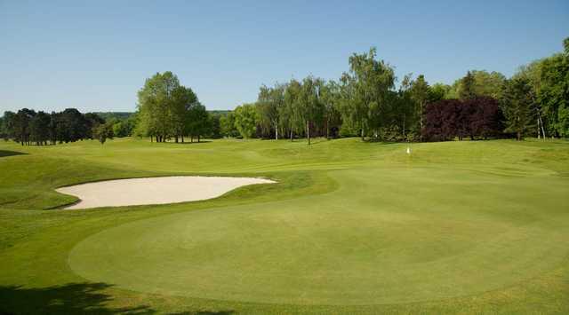 paris international golf club in baillet en france val d. Black Bedroom Furniture Sets. Home Design Ideas