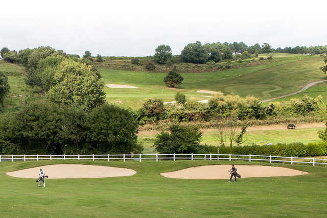 A View From Seaside Golf Course At Omaha Beach