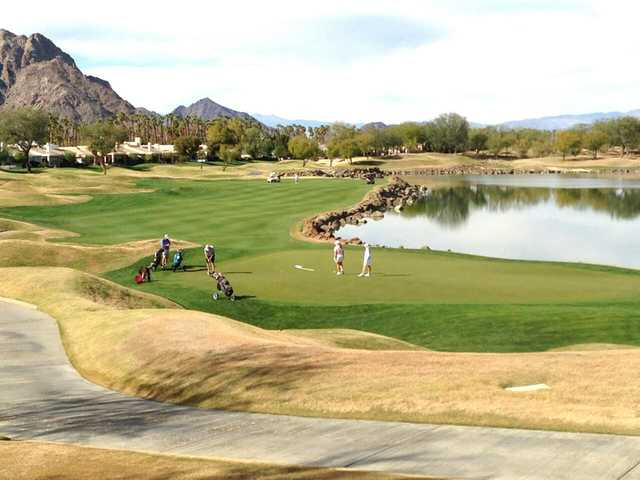 The Stadium Course At Pga West In La Quinta California