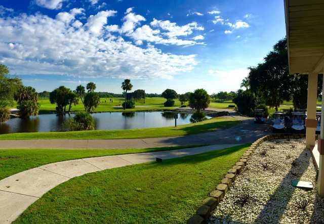 Manatee County Golf Course In Bradenton Florida Usa
