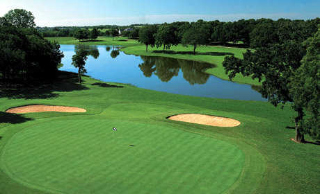A View Of A Green At El Dorado Park Golf Club