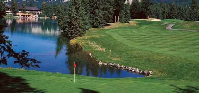 jasper park lodge golf course in jasper alberta canada. Black Bedroom Furniture Sets. Home Design Ideas