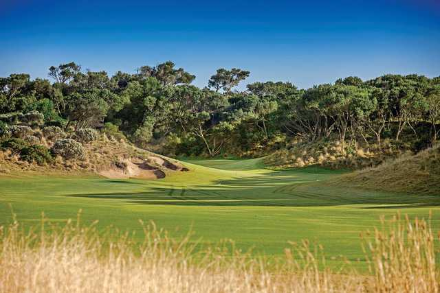 A View Of A Hole At St Andrews Beach Golf Club