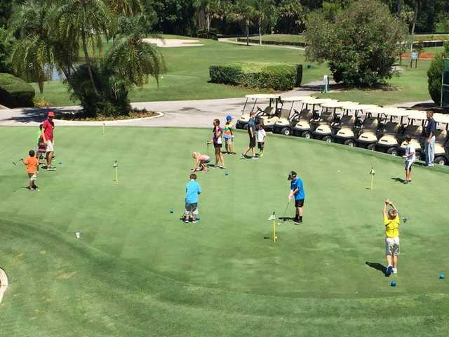 green seven championship at seven springs country club in new port richey