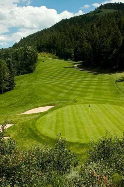 Golf Course Clubhouse Interior Design Ideas: EagleVail Golf Club In Avon, Colorado, USA