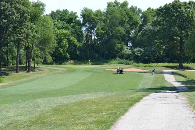eighteen hole at eagle springs golf course in saint louis missouri