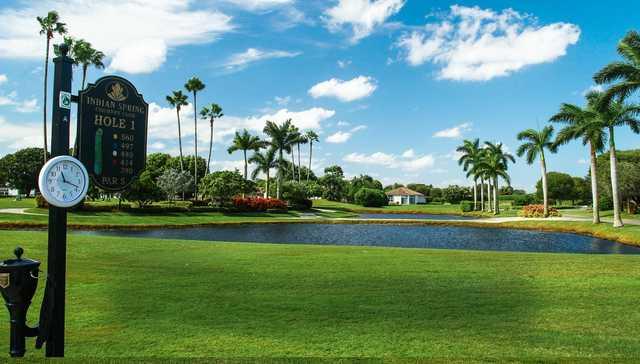 Indian Spring Golf Course Boynton Beach Florida