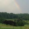 A view of a tee from Army Navy Country Club - Fairfax  (Mimi Mathewson Cusick).