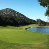 The final hole at Mt. Woodson Golf Club in Ramona, Calif., is a dynamite par 4.