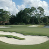 7th green at Deerwood Country Club
