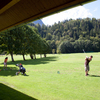 A view of the driving range at Werdenfels Golf & Country Club