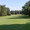 A view of fairway #18 at Hamburg-Ahrensburg Golf Club
