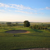 A view of green protected by bunkers at Domtal Mommenheim Golf Course – 18-hole Course