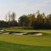 A view of hole #14 surrounded by bunkers at The Federal Club