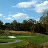 A view of hole #6 at Hilltop Golf Club