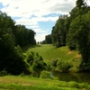 A view over the water of fairway at General's Ridge Golf Course