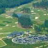 Aerial view from Independence Golf Club