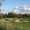 A view of hole #2 at Timbers at Troy
