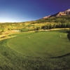 A view of hole #12 from The Reserve At Moonlight Basin Golf Club