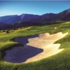 A view of the 15th hole from The Reserve At Moonlight Basin Golf Club