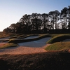 A view of the 5th hole at Crescent Pointe Golf Club