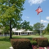 A view of the clubhouse at Locust Hills Golf Club