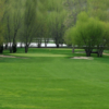 A spring view of a green at Four Seasons Golf Club