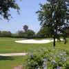 A view of the green #6 at Equestrian Course from Polo Club