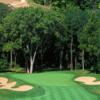 A view of green #12 at WeaverRidge Golf Club