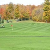 A fall view of green at South Hills Country Club