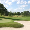 A view of the 2nd green at Moraine Country Club