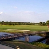 A view over the bridge at Spring Lake Golf Resort